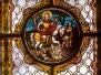 Glasfenster Hl. Martin, Ägydiuskirche Wien