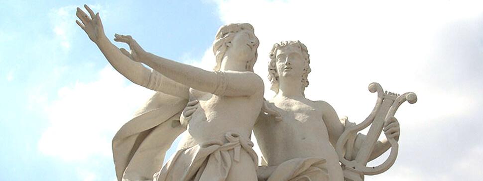 Statuengruppe Apollo und Daphne Belvedere, Wien