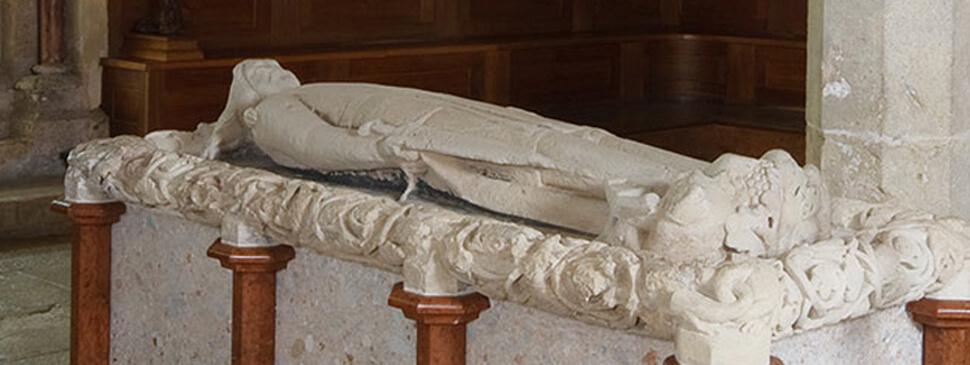 Hochgrab Friedrichs II im Zisterzienserstift Heiligenkreuz