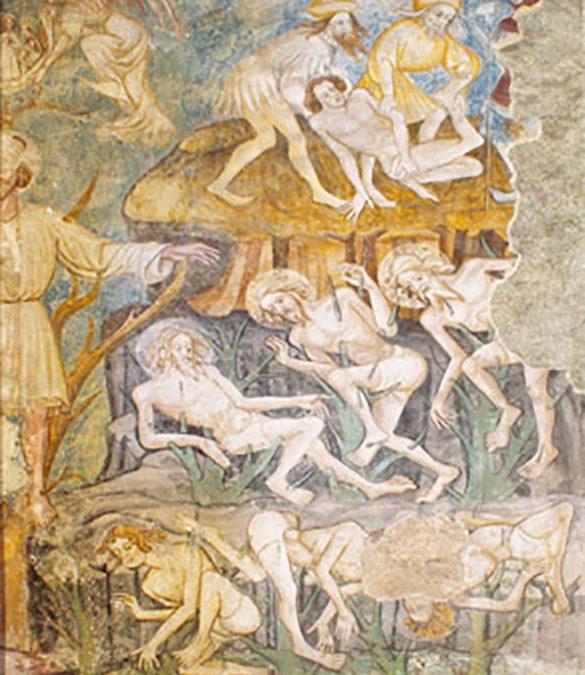 Fresken in der Minoritenkirche Bruck an der Mur