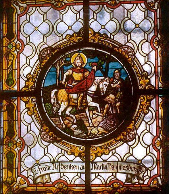 Glasfenster Filialkirche Hl. Ägydius Pötzleinsdorf