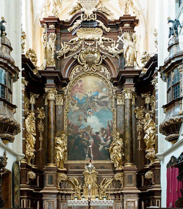 Hochaltarbild in der Pfarr- und Stiftskirche Neukloster, Wiener Neustadt