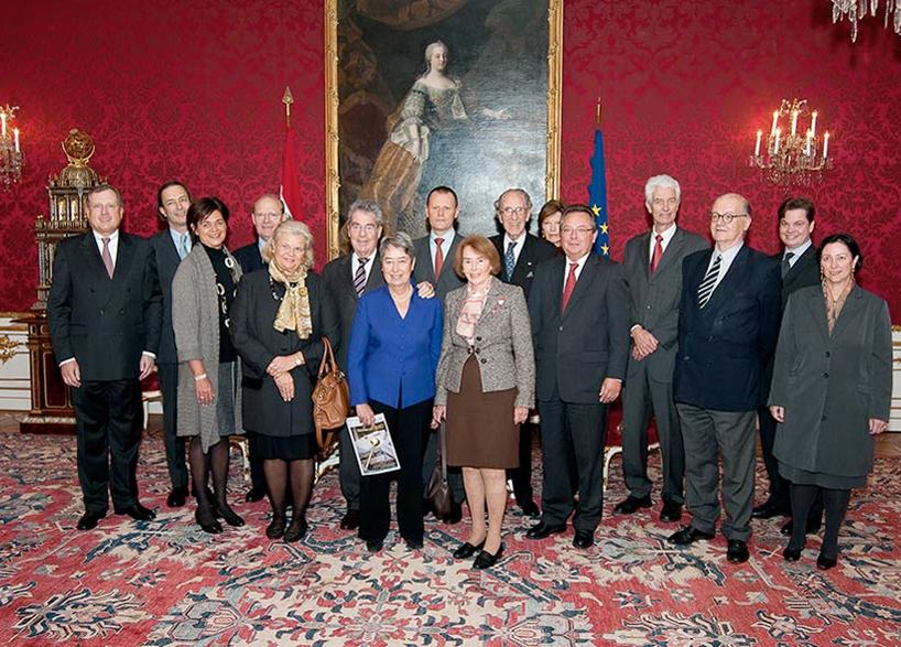 25 Jahre Denkmalfreunde Empfang in der Hofburg