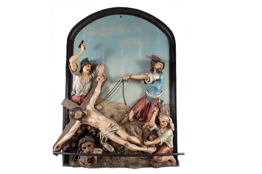 "Figurengruppen ""Zorn"" und ""Liebe"" Kalvarienbergkirche, Wien"