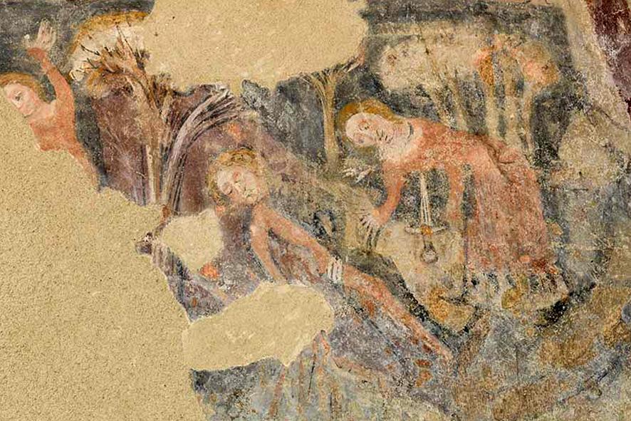 Fresken im Pistorhaus in Bad Radkersburg