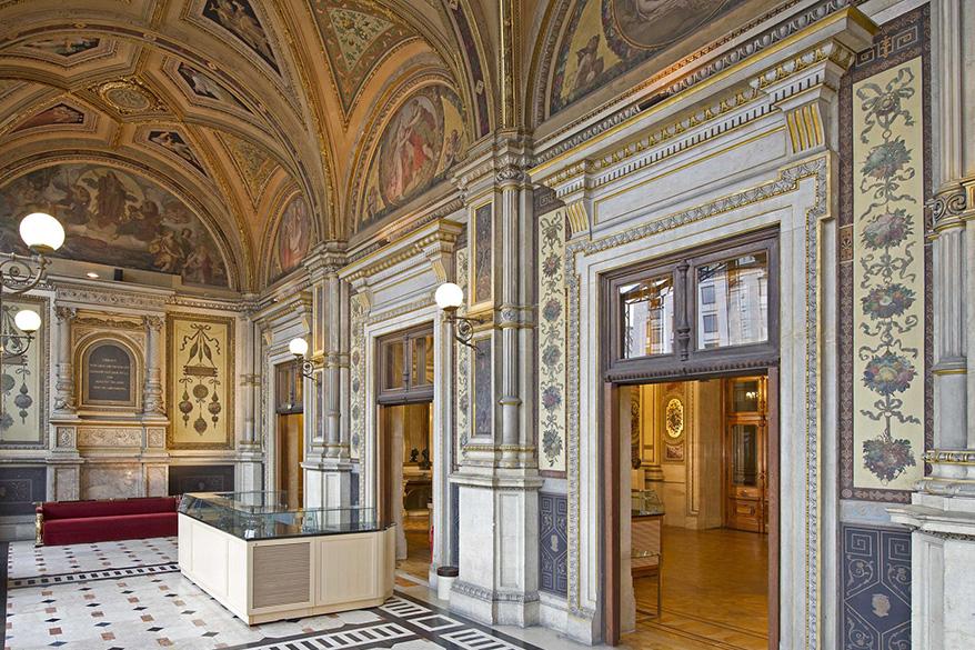 Renovierung Schwind-Foyer Wien, Staatsoper